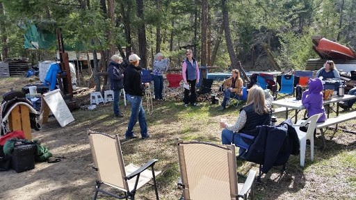 """2016 """"Camping with your Horse"""" clinic"""